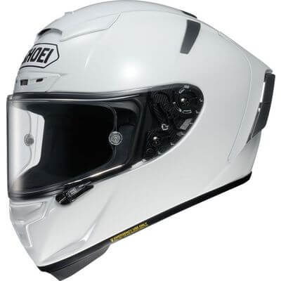Shoei testna čelada X-Spirit 3 White